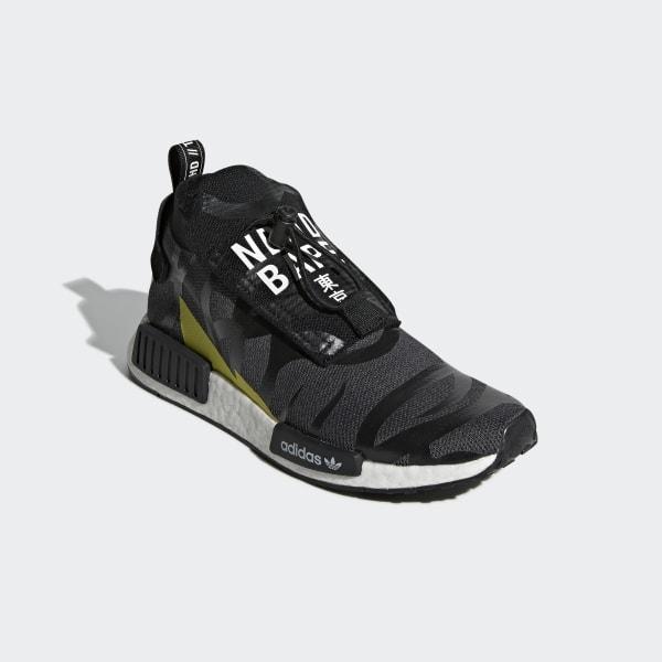 quality design 99f61 c9cc4 adidas NEIGHBORHOOD BAPE NMD Stealth Shoes - Black | adidas Australia