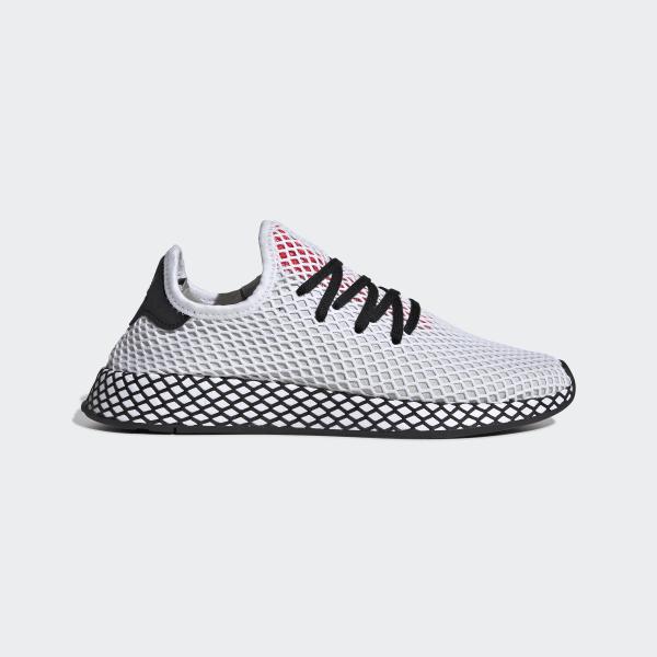 ce0f5563bba Deerupt Runner Shoes Ftwr White / Core Black / Shock Red DB2686