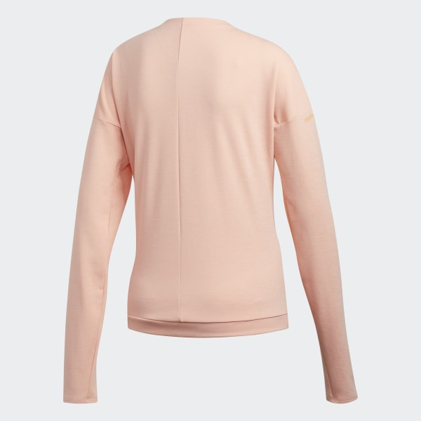 adidas Supernova Run Cru Sweatshirt Rosa | adidas Deutschland