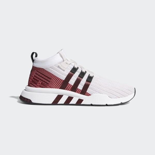 e336bc8e17acb EQT Support Mid ADV Primeknit Shoes Orchid Tint / Cloud White / Maroon  B37428