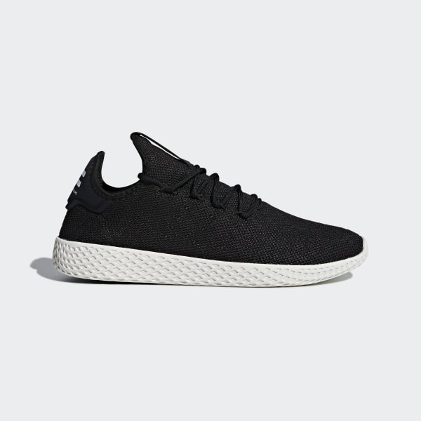 a7b07ef7d3 Tênis Pharrell Williams Tennis Hu Core Black   Core Black   Chalk White  AQ1056