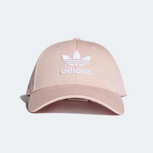 5db3aef1 Trefoil Baseball Cap Pink Spirit / White EK2994