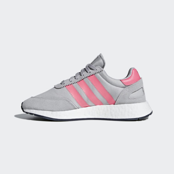 adidas Originals Iniki I 5923 W Grau Chalk Rosa Schuhe für