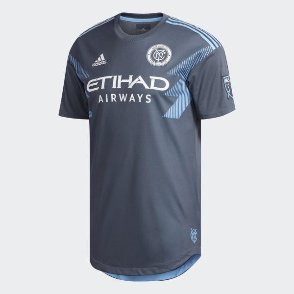 808b85a3578 New York City FC Away Authentic Jersey Utility Blue   Bahia Light Blue    White CE3261