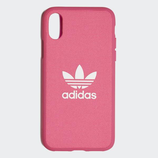 637c35fbd2b Funda iPhone X Moulded 5,8 pulgadas - Rosa adidas | adidas España