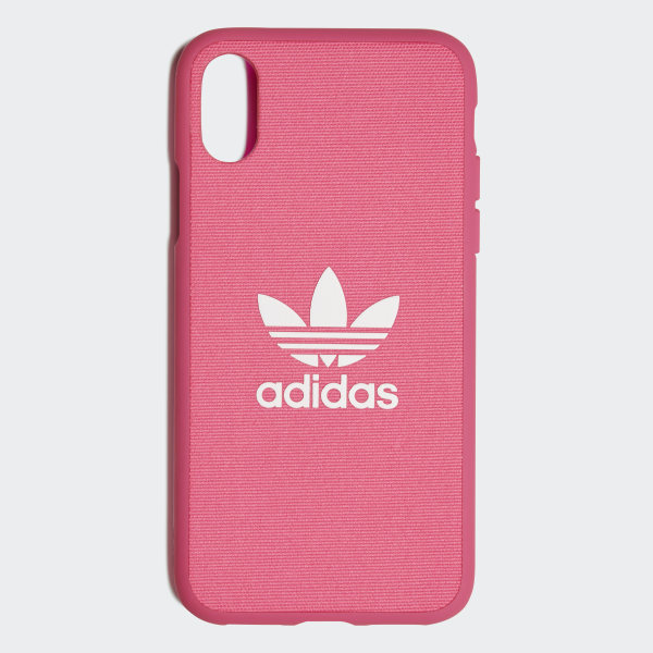 meet f9e05 290fa adidas Moulded Case iPhone X 5.8-inch - Pink | adidas Switzerland