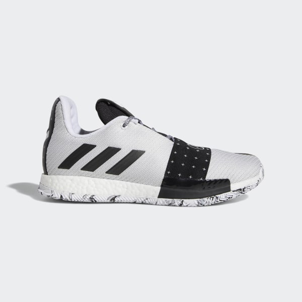 db6351f0f1c3 Harden Vol. 3 Shoes Cloud White   Core Black   Light Solid Grey AQ0035