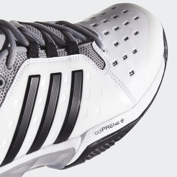 newest 5d09a 6300c Barricade Classic Wide 4E Shoes Cloud White   Core Black   Mid Grey BY2920
