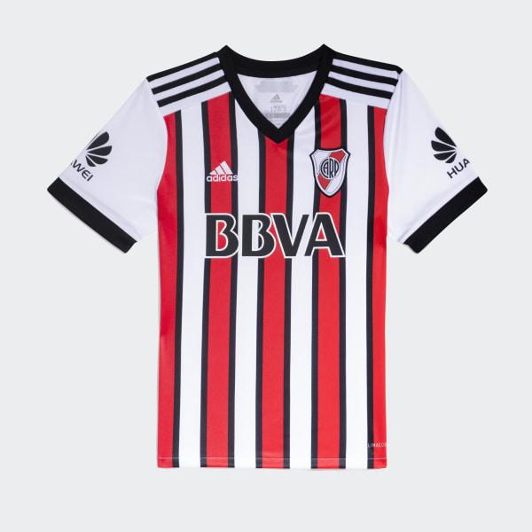 ce9433db3 Tercera Camiseta Club Atlético River Plate WHITE BLACK RED BJ8927