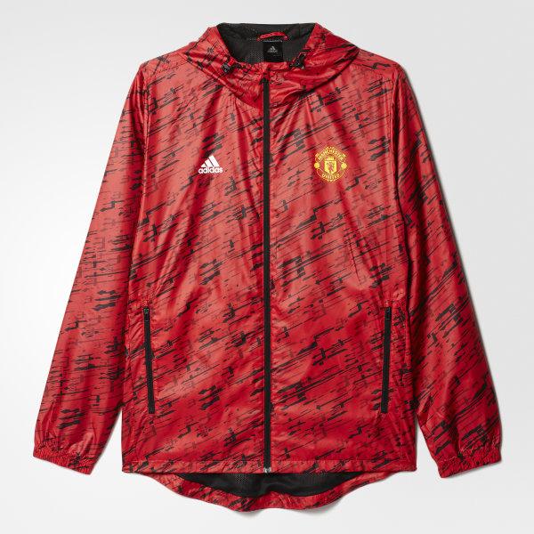 7c2c0976b63af adidas Men's Manchester United FC Windbreaker - Red | adidas ...
