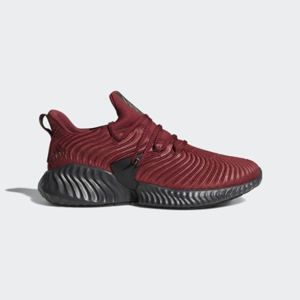 adidas alphabounce black and red