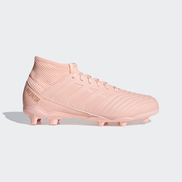 pretty nice 1003e b09b3 adidas Predator 18.3 Firm Ground Cleats - Pink | adidas US