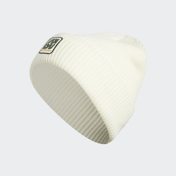40ff5c64f adidas Joe Logo Beanie - White | adidas UK