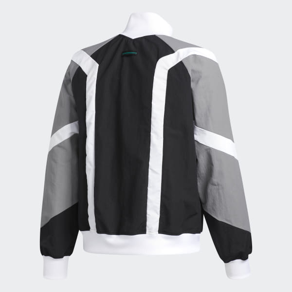 adidas EQT Block Windbreaker Jacket Black   adidas US