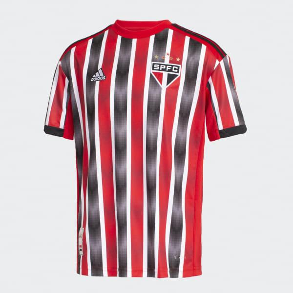 747e5f298 Camisa São Paulo FC 2 INFANTIL - Vermelho adidas | adidas Brasil