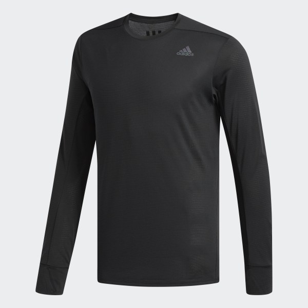 a56c3873 adidas Supernova Long-Sleeve Top - Black | adidas UK