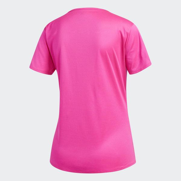 f9da1f487d19 adidas Response Tee - Pink   adidas UK