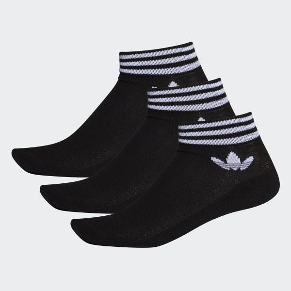 adidas Trefoil Enkelsokken 3 Paar zwart | adidas Officiële Shop
