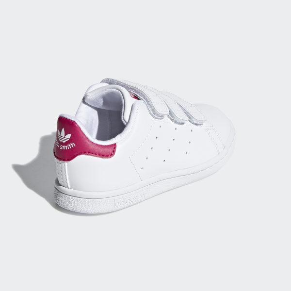 Tjej Nya Smith Vita Stan Skor Adidas Originals XBqa77