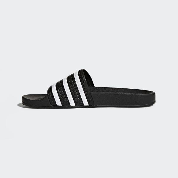 size 40 eaa4e 73e79 Adilette Slides Core Black   White   Core Black 280647