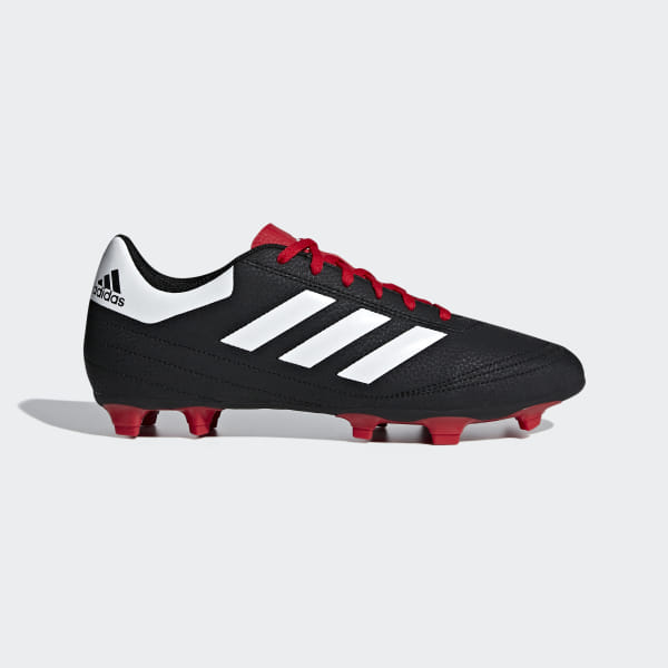 972ed7513 Goletto 6 Firm Ground Cleats Core Black   Cloud White   Scarlet G26366