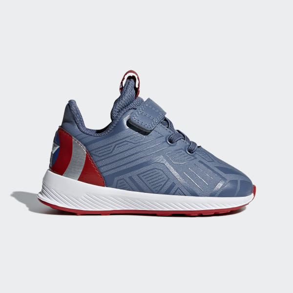 aed9c7ab1f814 adidas Marvel Captain America RapidaRun Shoes - Blue | adidas US