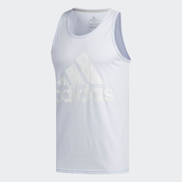 d2ddc0f4bcde adidas Badge of Sport Tank Top - Blue | adidas US