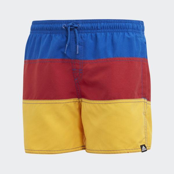03006d14e4b9c adidas Colorblock Swim Shorts - Blue   adidas Belgium