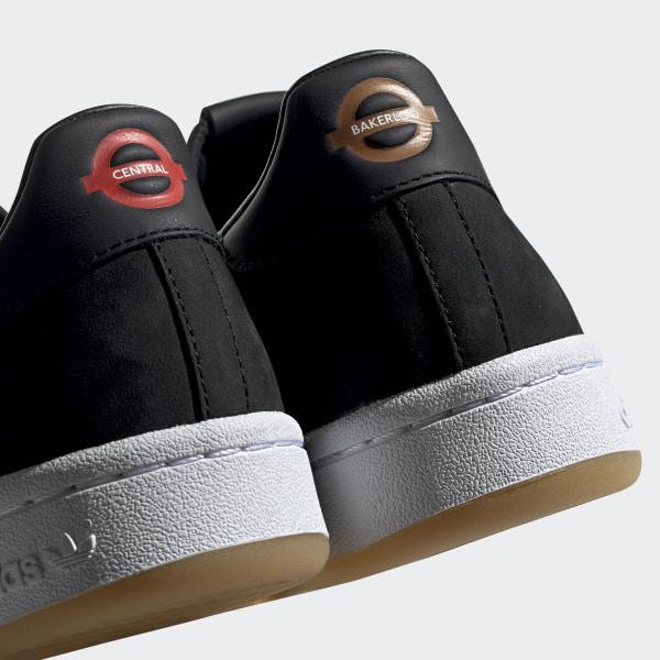 hot sales 89c24 9b5ab Originals x TfL Continental 80 Shoes Core Black   Grey Six   Gum 3 EE7270