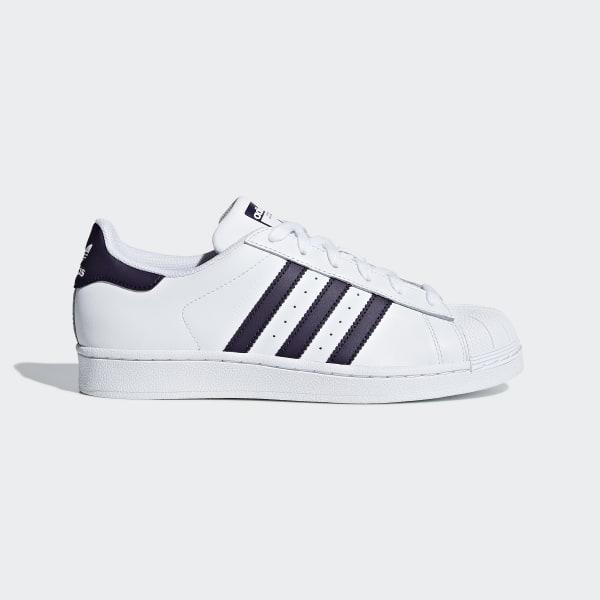 size 40 253eb bb116 Superstar Shoes Ftwr White   Legend Purple   Core Black DB3346