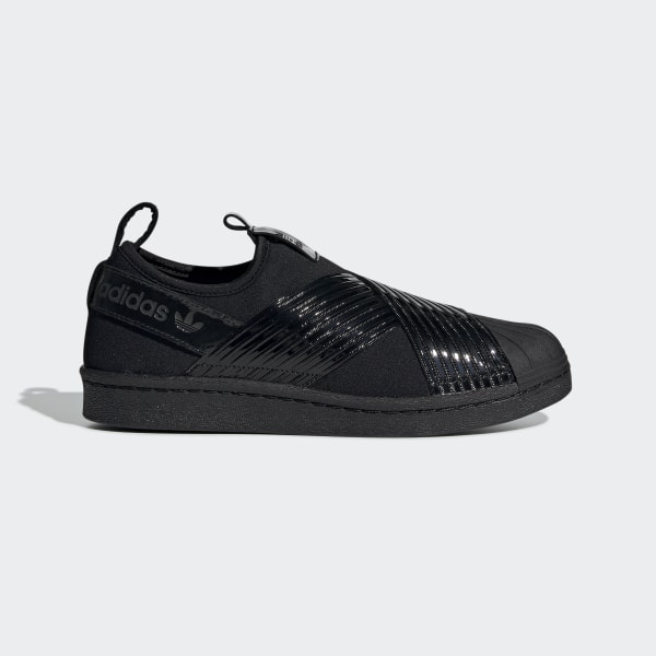 lowest price b4c2a abf11 adidas Superstar Slip-on Shoes - Black | adidas Turkey