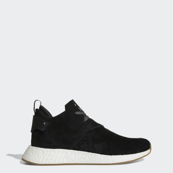 reputable site 36a51 4521f NMD C2 Shoes Core Black   Core Black   Gum BY3011