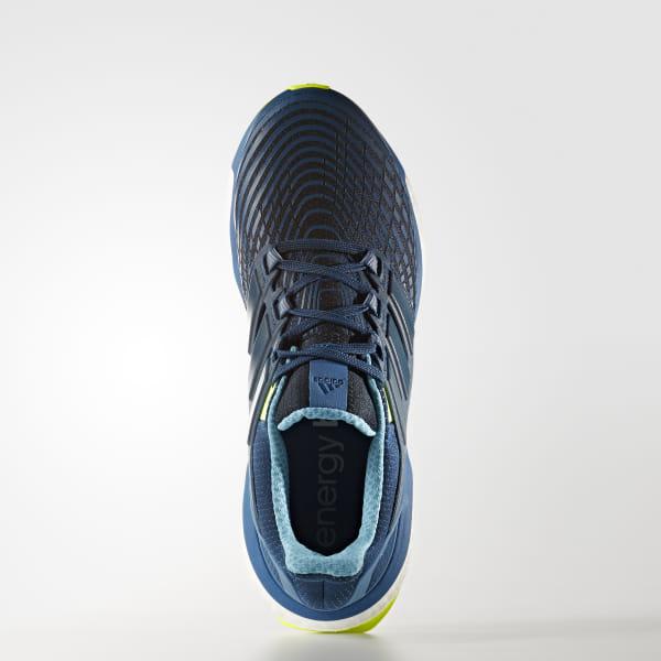 f5022d6c2 Zapatillas de running Energy Boost BLUE NIGHT F17 BLUE NIGHT F17 SOLAR  YELLOW CG3358