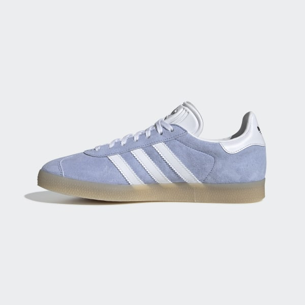 new style 5577d c7339 Gazelle Shoes Periwinkle   Ftwr White   Ecru Tint CG6059
