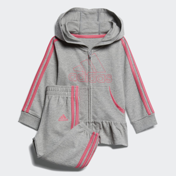 6e4e0e0b6c adidas ADIDAS FT HOODIE SET - Grey | adidas US