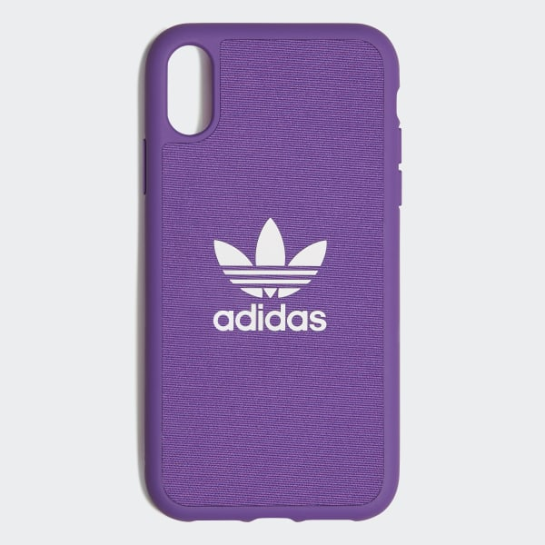 online store 6a709 999e7 adidas Molded Case iPhone XR 6.1-inch - Purple | adidas US