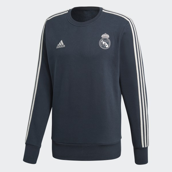 best service e7ea1 ea336 adidas Real Madrid Sweatshirt - Blue | adidas Ireland