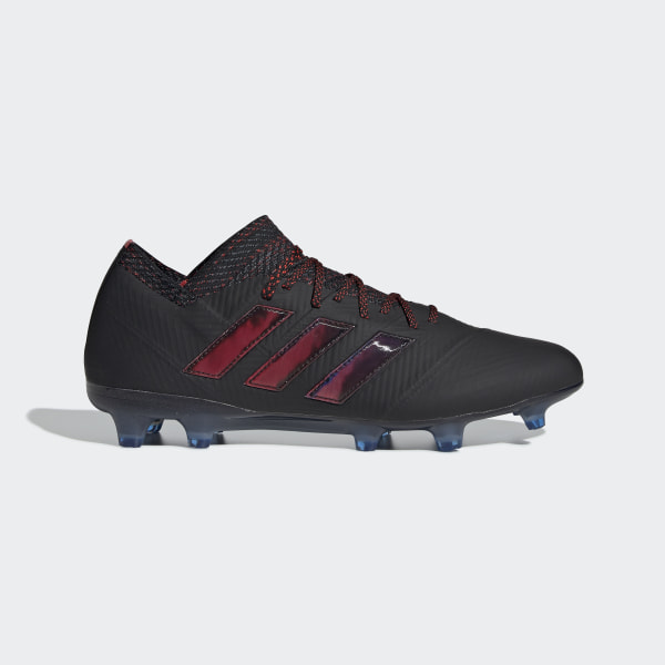 6dd1af43eb4 Nemeziz 18.1 Firm Ground Boots Core Black   Core Black   Football Blue  D98007