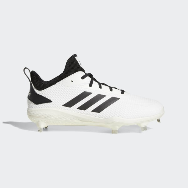 official photos 8af50 40fcc Adizero Afterburner V Cleats Running White   Core Black   Core Black CG5226