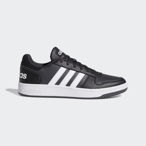 a4511100 Баскетбольные кроссовки Hoops 2.0 core black / ftwr white / carbon B44699