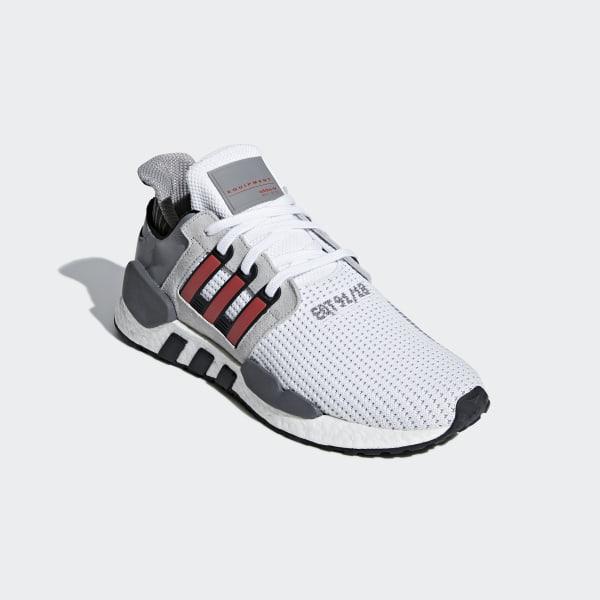 Mens Womens Shoes Adidas Originals EQT SUPPORT 9118 White Grey Red B37521 b37521