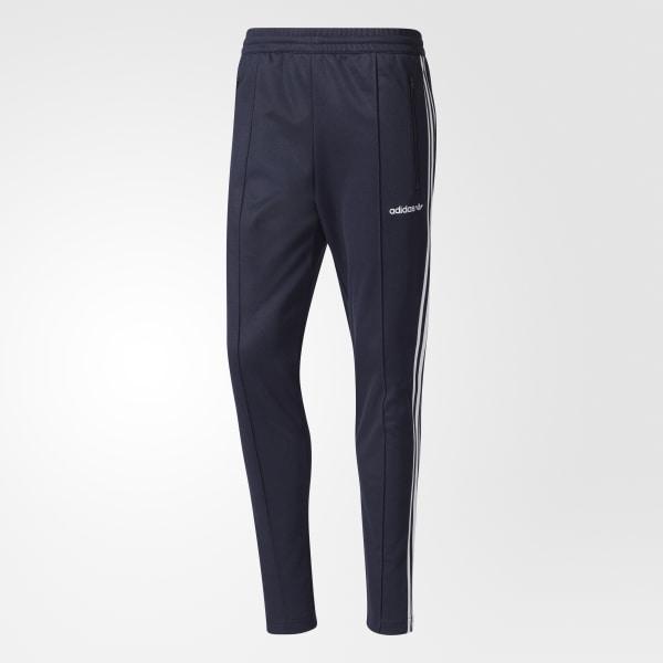 f94f07d0c8 adidas Spodnie dresowe Beckenbauer Open Hem Track Pants - niebieski ...