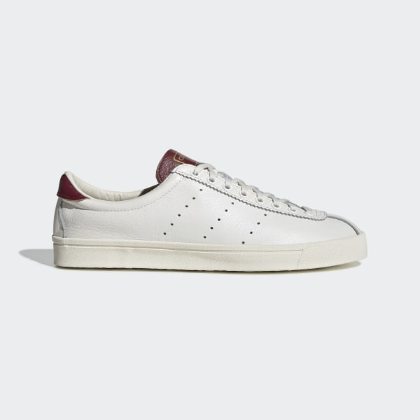 adidas Trainers adidas Lacombe Trainers in White & Black premium soft leather