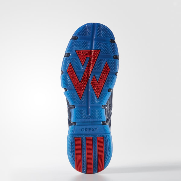 uk availability d527a 7313b J Wall 2.0 Shoes Collegiate Navy   Vivid Red   Shock Blue F37132