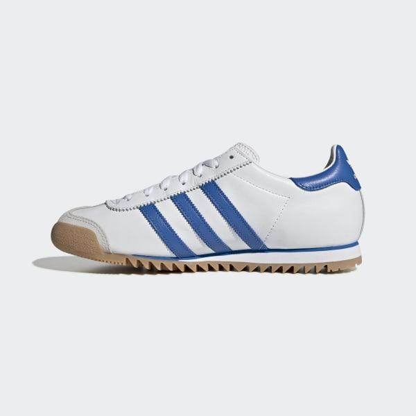 adidas rom bianca blue