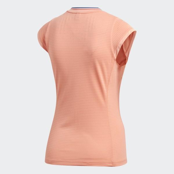592b4fe89f adidas Roland Garros Ball Girl Tee - Orange | adidas US