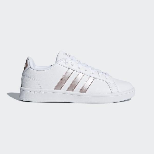 adidas Cloudfoam Advantage Shoes - White | adidas US