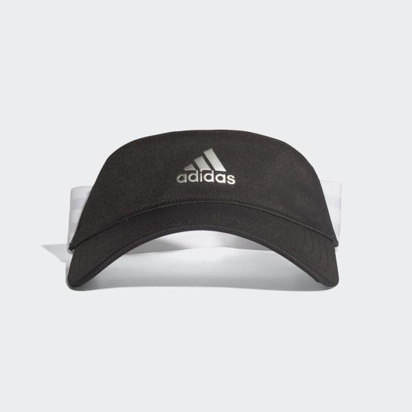 3bcd0afc adidas 3-Stripes Visor - Black | adidas US