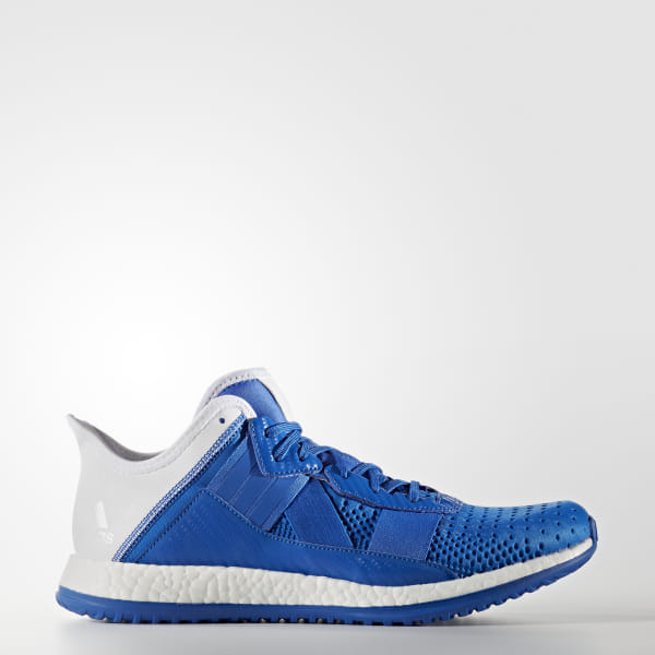 huge selection of 41a9c 25435 Pure Boost ZG Trainer Shoes Blue   Cloud White   Core Black S76726