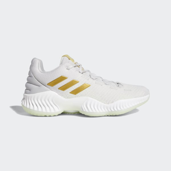 a26d81f4c38 Pro Bounce 2018 Low Shoes Aero Green   Gold Met.   Grey Two B41863